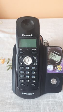 Радио телефон. Телефон панасонік. Panasonic