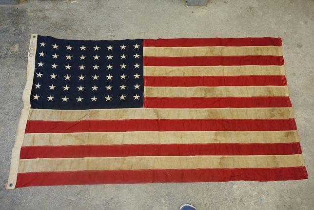 Bulldog BUNTING UNITED States 48 STAR Flag 3 X 5FT