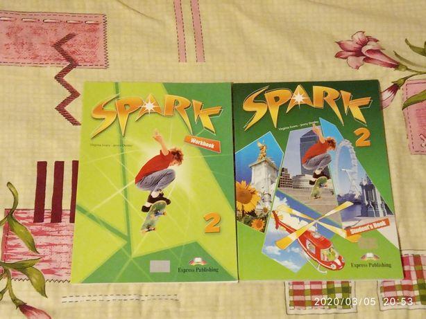 Комплект учебников для изучения английского языка«spark 2»