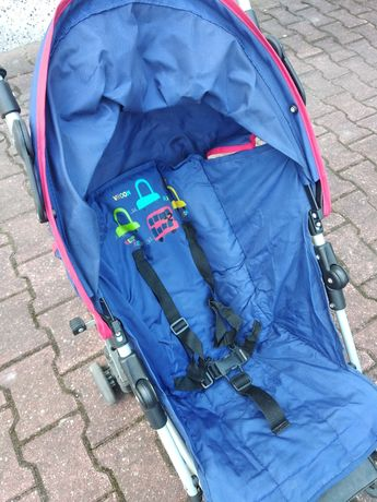 Wózek spacerowy Typu parasolka składany
