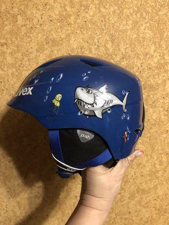 Шолом дитячий лижний, Uvex 48-52, детский шлем горнолыжный