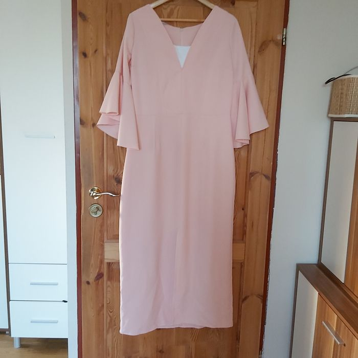 Sukienka 42 różowa Karko Grandio Lębork - image 1
