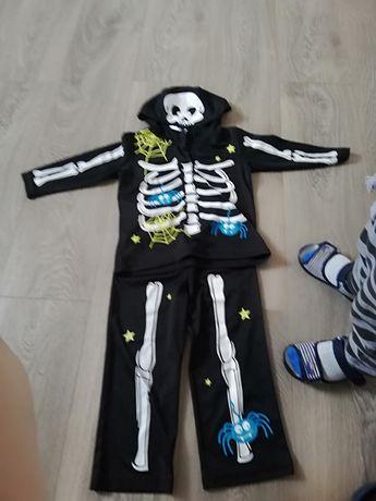 Stroj kostium szkielet