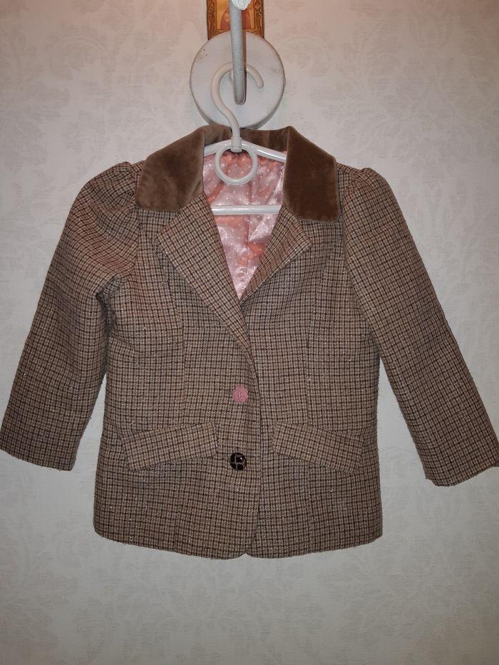 Стильный пиджак, 2-3 года Одесса - изображение 1