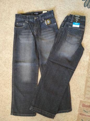 Nowe spodnie dla bliźniaków 6 lat r.122