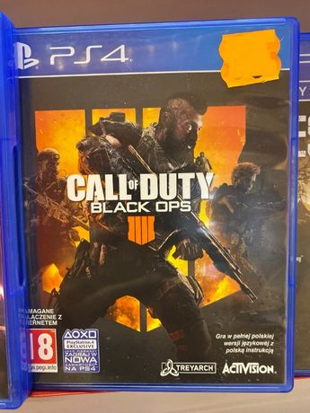 Call of Duty Black ops IV 4 PS4 PL *Sklep Bytom