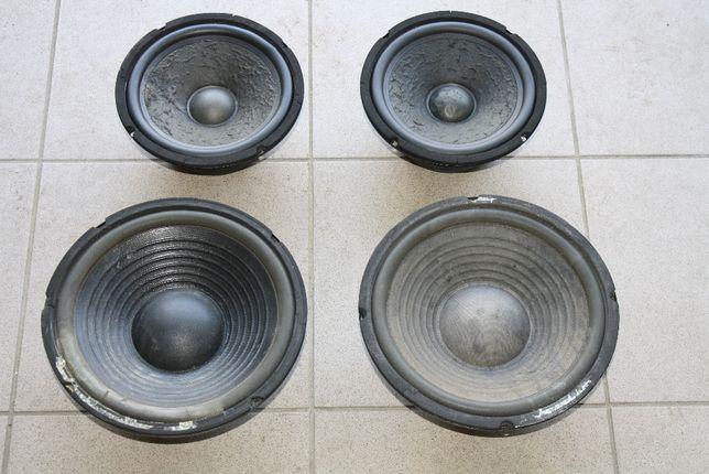 Głośniki Alphard sprawne 4 sztuki 120W i 150W 8ohm cena za komplet