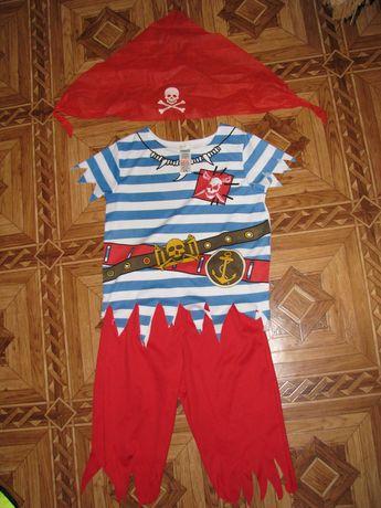 костюм пирата на 3-4 года
