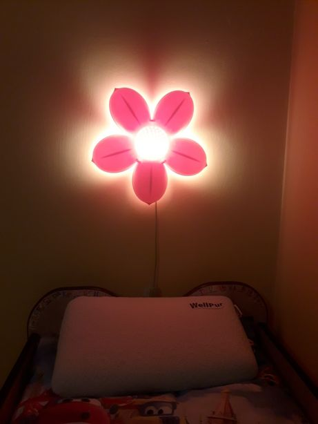 Lampka kwiatek