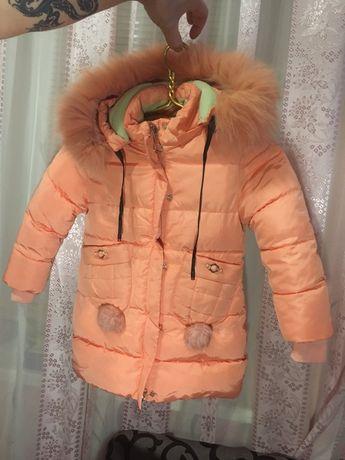 Детская куртка пуховик