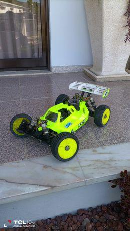 Losi 4 motor O.S, carro todo de competição