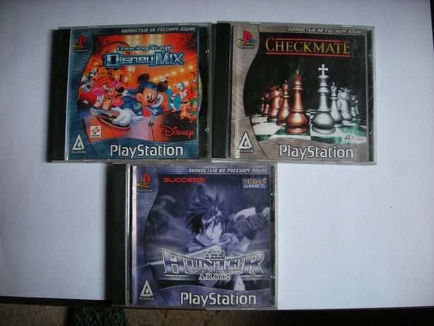 Новые диски на Sony PlayStation 3шт цена 250руб