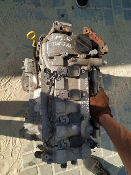 Двигун Ніссан мікра к12 рестайл CR12 micra 1.2 рейка коробка розборка