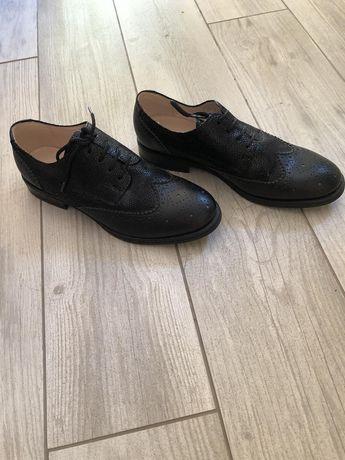 """Туфли """"оксфорды"""" кожаные"""