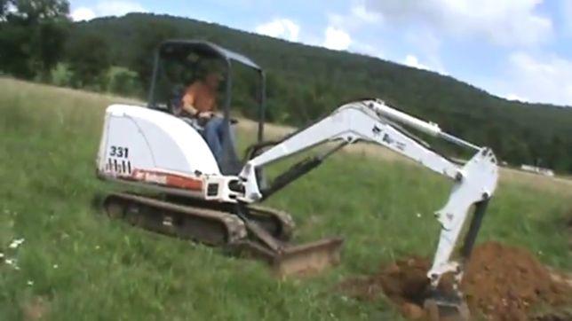 Мини экскаватор BOBCAT X 331