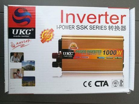 Преобразователь инвертор UKC 24V 220V 1000W
