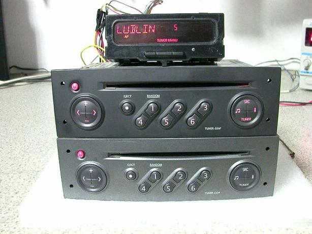 Radio CD Renault Scenic II Megane II Update List Tuner List