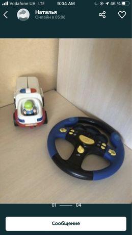 Игрушки скорая помощь и руль