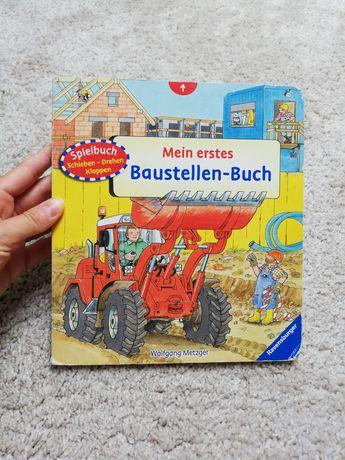 Mein erstes Baustellen-Buch książka dla dzieci w języku niemieckim