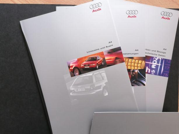 Prospekt Audi A4 B5 Teczka