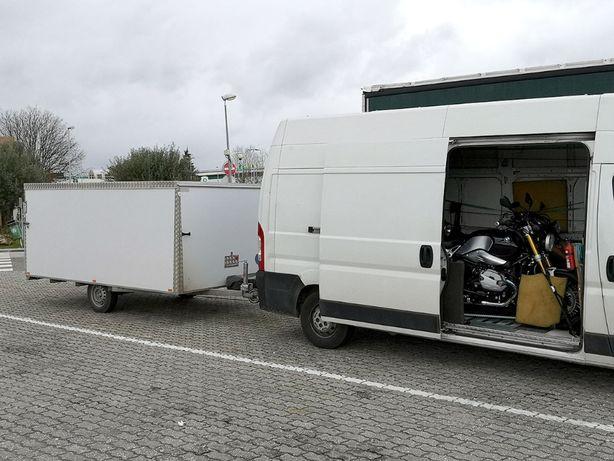 Transporte Low Cost de motas e motos 4