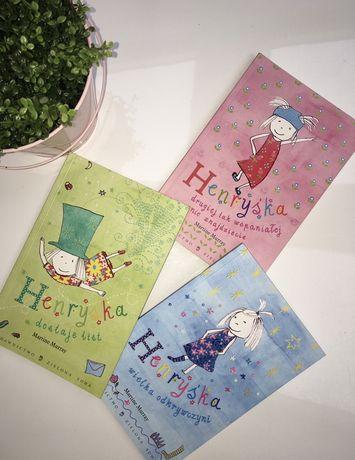 """Książka Henryśka """"dostaje list"""" """"wielka odkrywczyni"""" dla dzieci"""