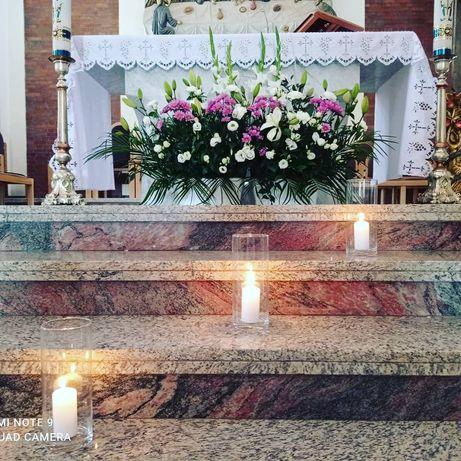 Dekoracja Kościoła oraz sal weselnych