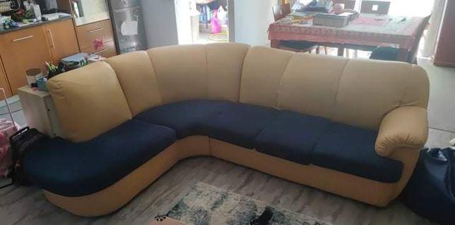 Ofereço sofá de canto
