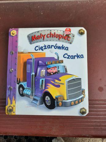 Mały chłopiec ciężarówka Czarka
