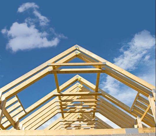 więźby dachowe tarcica łaty kontrłaty deski