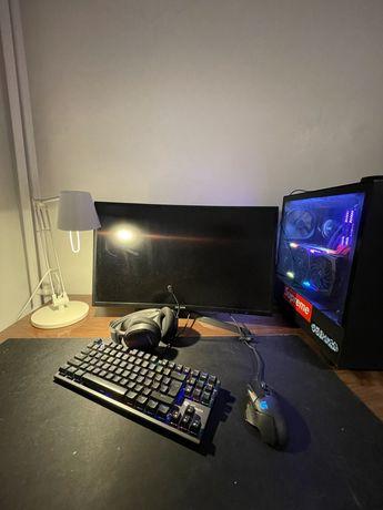Komputer gamingowy / i7 7700k/rtx 2070 super x trio fajne gratisy