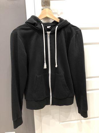 Bluza czarna rozponana 36 H&M