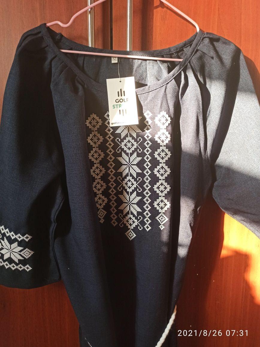 Продамо Сукня вишиванка, темно-синього кольору