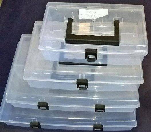 Skrzynka Organizer Pudełko Uniwersalny (Przezrocyste)
