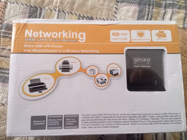 Принт сервер USB LPA