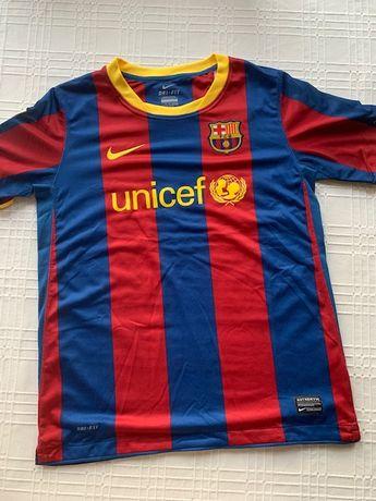 Domowa koszulka FC Barcelona Nike sezon 2010/11