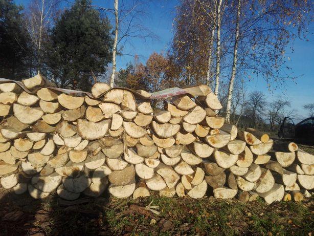 Drewno opałowe kominkowe suche