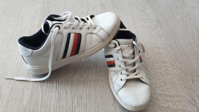 Buty Tommy Hilfiger Chłopięce Chlopca Skóra Najwyższa Jakość Oryginał