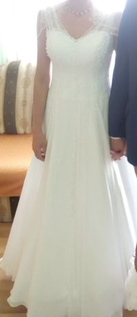 suknia ślubna 36/38 ładna, bardzo dobry stan