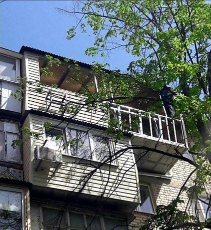 Ремонт балконов любой сложности
