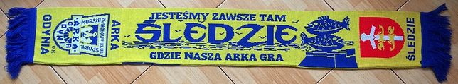 Szalik ARKA GDYNIA O.K. Unikat !