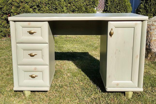 Toaletka/biurko BRW Retro sosna zielona