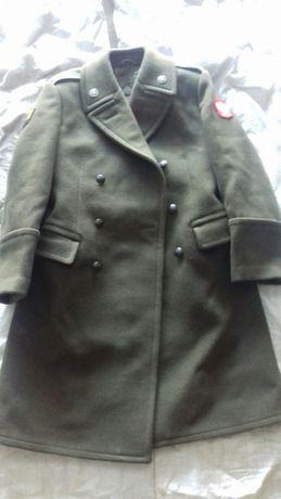 Płaszcz zimowy oficerski