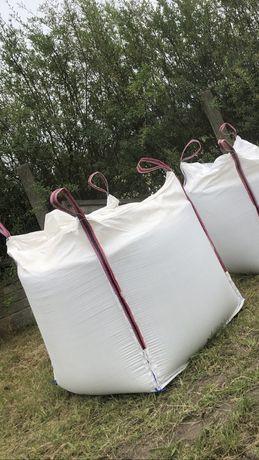 Duze worki BIG BAG BAGI BEGI bigbags z klapą 1200 kg 88/90/193 cm
