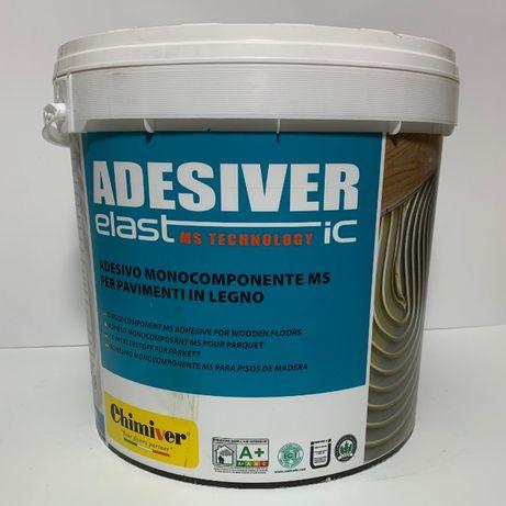 Клей для паркета Adesiver Elastic Chimiver 15 кг