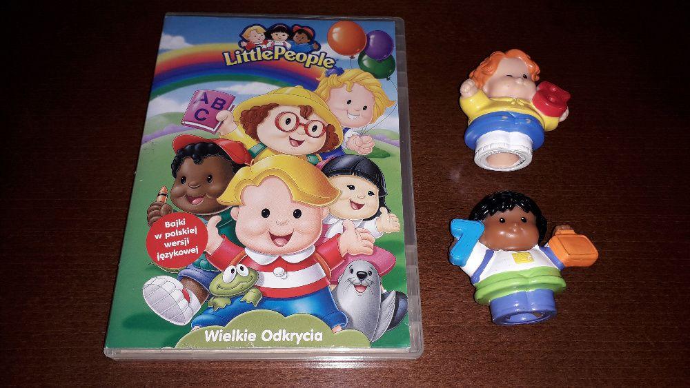 """Little people - 2 figurki + DVD """"Wielkie Odkrycia"""" Legionowo - image 1"""