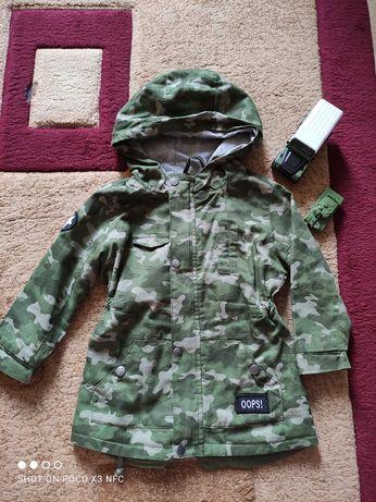 Куртка, парка детская лёгкая Sinsay