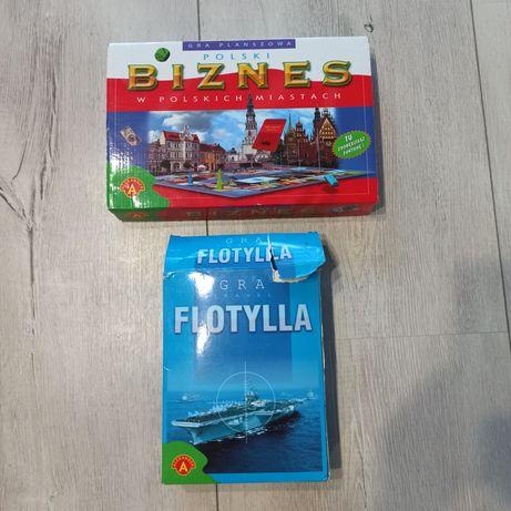 """2 gry """" Polski biznes"""" i """" Flotylla"""""""