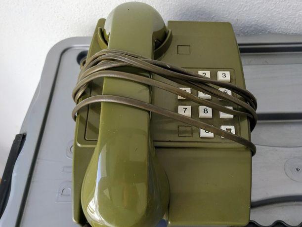 Telefone antigo vintage verde tropa portes incluídos