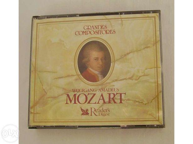 Lote de 3 CD`s de Grandes Compositores -Wolfgang Amadeus Mozart